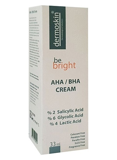 Dermoskin  Be Bright AHA / BHA Cream 33ml Renksiz